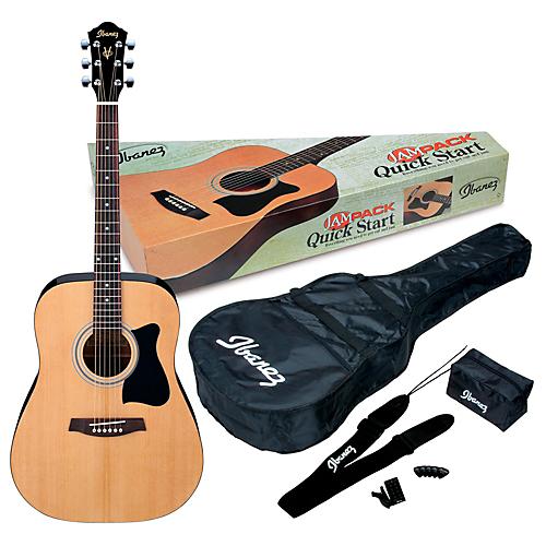 Ibanez IJV50 Acoustic Guitar Pack