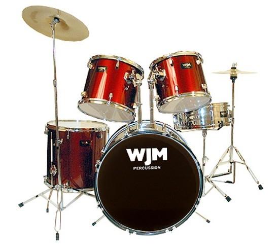 wjm jw110 complete drum set deluca music. Black Bedroom Furniture Sets. Home Design Ideas