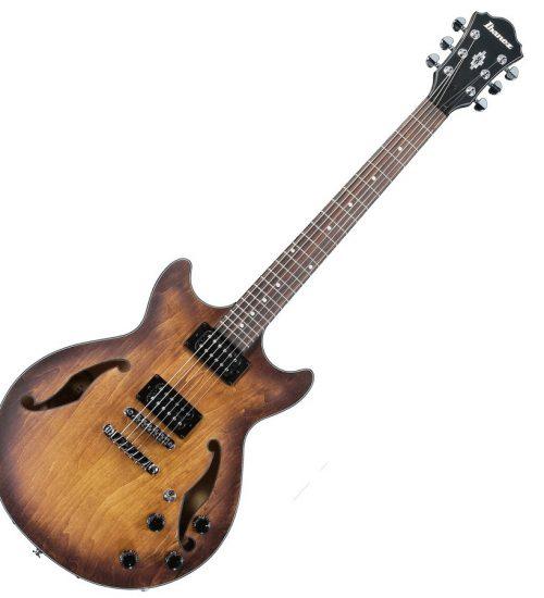 Ibanez ARTCORE AM73B TF Hollow Body Double Cutaway Electric Guitar