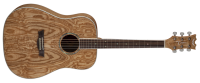 Dean AXS Dreadnought Quilt Ash - Natural zoom