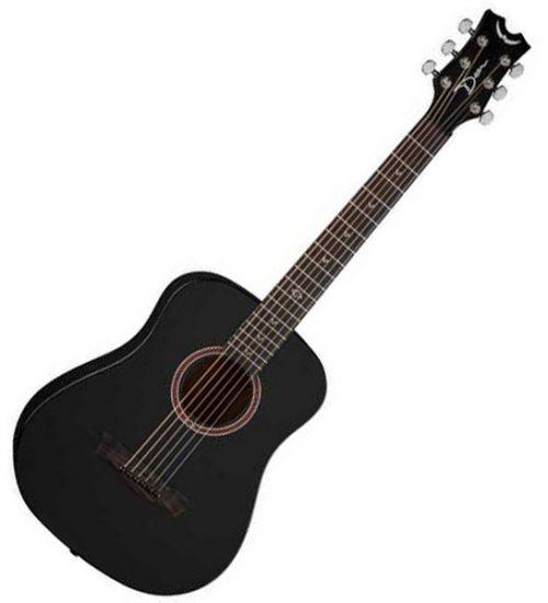 Dean Flight Travel Guitar - Black Satin