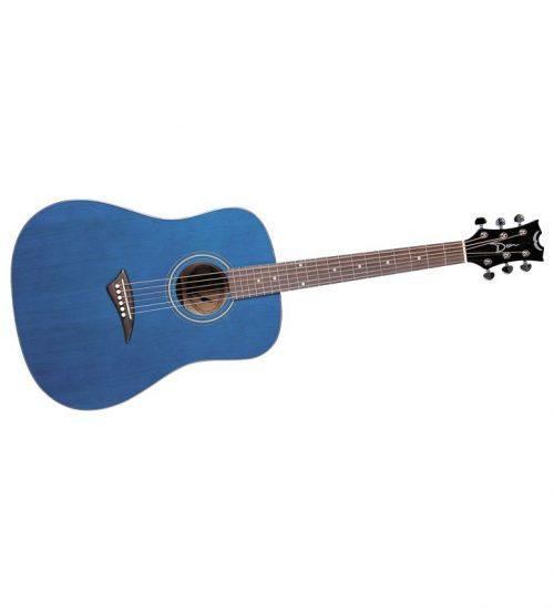Dean Tradition AK48 Acoustic Guitar With Case - Blue
