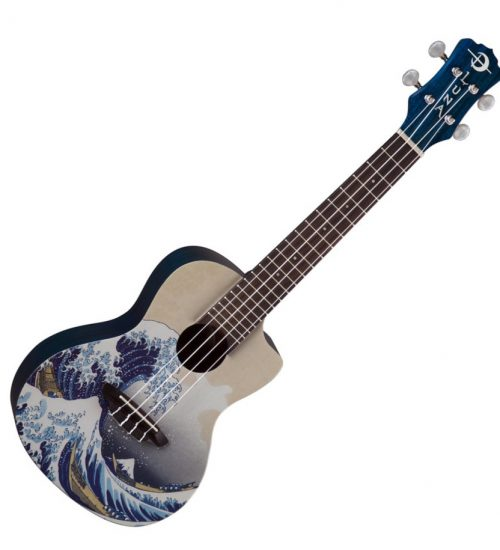 Luna Great Wave Soprano Ukulele