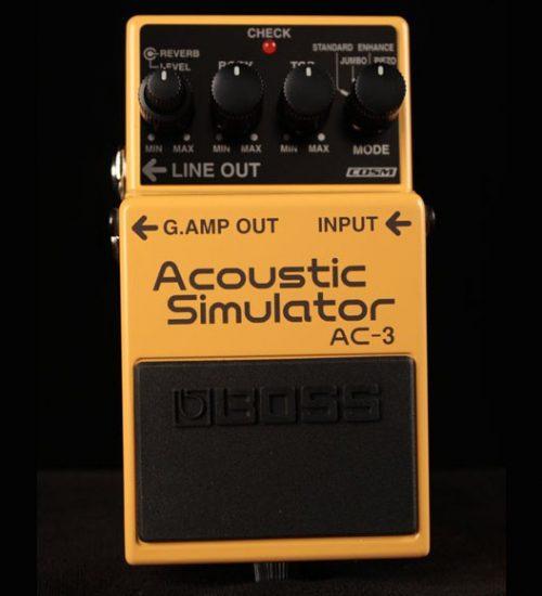 Boss AC3 Acoustic Simulator Pedal