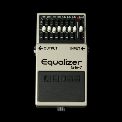 Boss GE7 7 Band Equalizer Effect Pedal