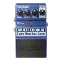 Digitech Multi Chorus Effect Pedal
