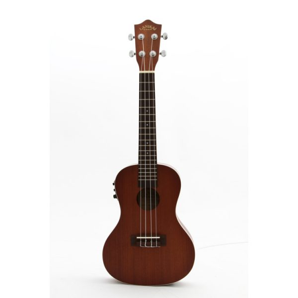 lanikai concert ukulele acoustic electric deluca music. Black Bedroom Furniture Sets. Home Design Ideas