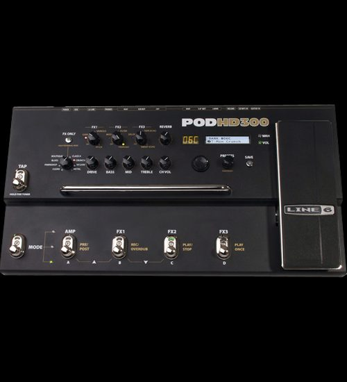 Line 6 POD HD300 Guitar Multi Effects Processor