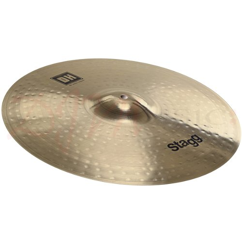 stagg 16 dual hammered crash rock cymbal deluca music. Black Bedroom Furniture Sets. Home Design Ideas