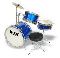 WJM 3 Piece Junior Drum Set