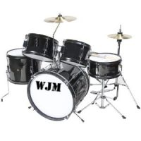 WJM 5 Piece Complete Junior Drum Set