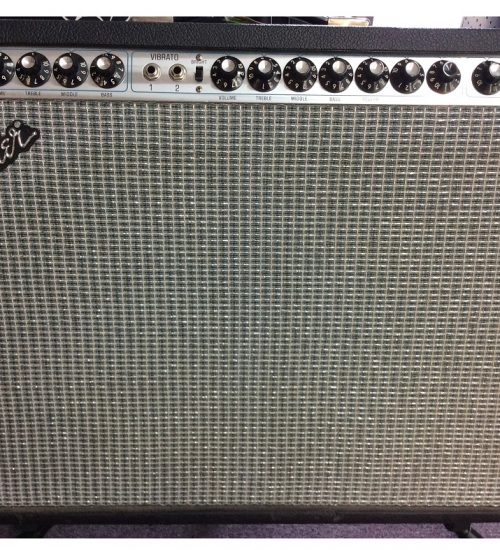 Used Fender Twin Reverb Guitar Amp