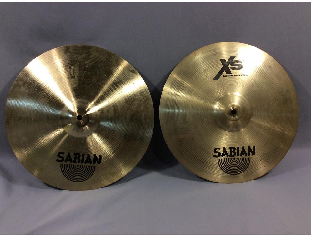 33f0ac53d924 Sabian XS20 14″ Medium Hi Hats