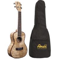 Amahi UK880c Quilted Ash Concert Ukulele