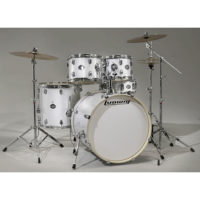 Ludwig Element 5 Piece Drum Kit - White Sparkle