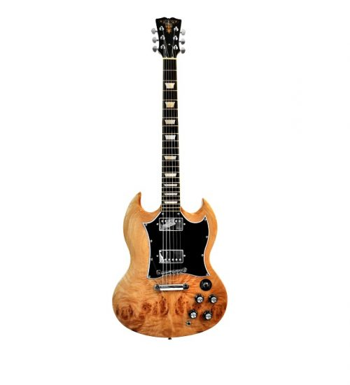R&B Special Electric Guitar - Spalted Maple