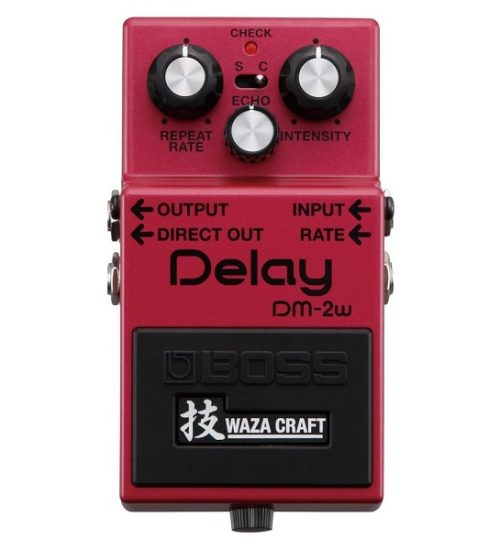 Boss DM-2w Waza Craft Delay