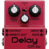 Boss DM-2w Waza Craft Delay zoom