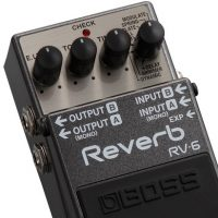 Boss RV-6 Digital Reverb Pedal zoom